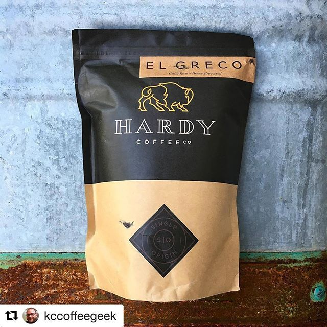 #Repost @kccoffeegeek (@get_repost) ・・・ Today on KCcoffeegeek.com I have this awesome honey process from @hardycoffeeco and @mycoffeepub! This one is stellar and the link to the review is in my profile. #coffee #coffeereview #coffeeporn #coffeegram #igcoffee #coffeeprops #kccoffeegeek #hatdycoffeeco #omahanebraska