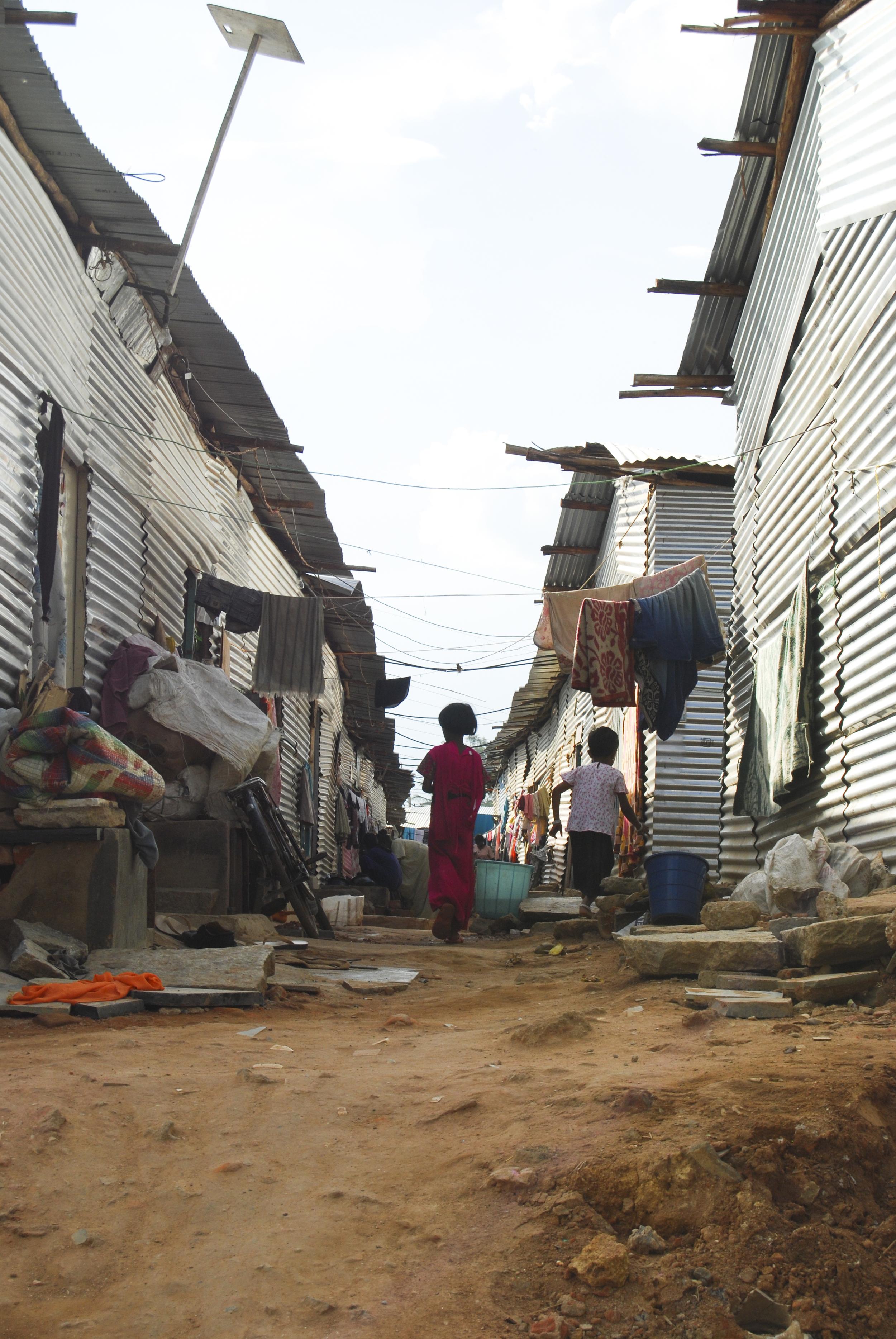 Bangalore Slum