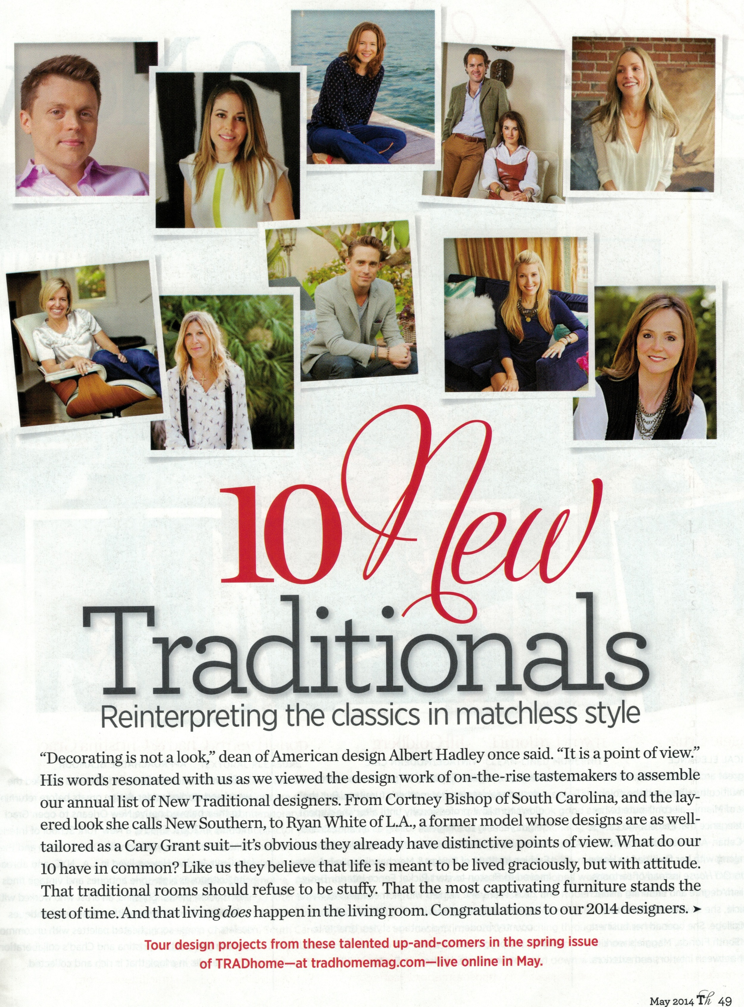 10 New Traditionals