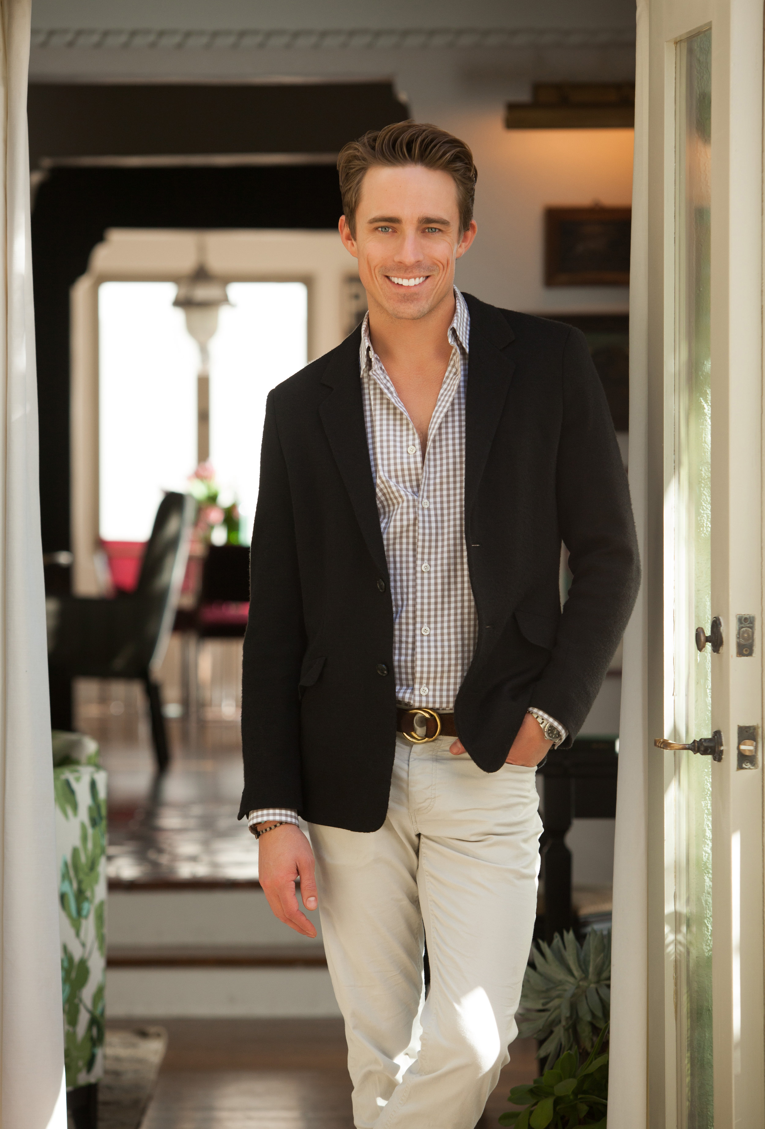 American Sophistication - Ryan White is the founder and president of Ryan White Designs, a highly sought after interior design firm that is paving the way for today's understated, clean, rich, comfortable and sophisticated interiors.Having spent seven years living in New York City and working in the fashion industry, Ryan relocated to Los Angeles on a quest to find new goals and aspirations. Within months of making this transition, White found his passion for design. Since founding RWD in 2012 Ryan has been featured in House Beautiful, Traditional Home, Hollywood Reporter, Departures, Luxe Magazine, Lonny Magazine, Saatchi Online, One Kings Lane, Domaine Home, Angeleno Interiors, I Heart Design and NBC Open House.