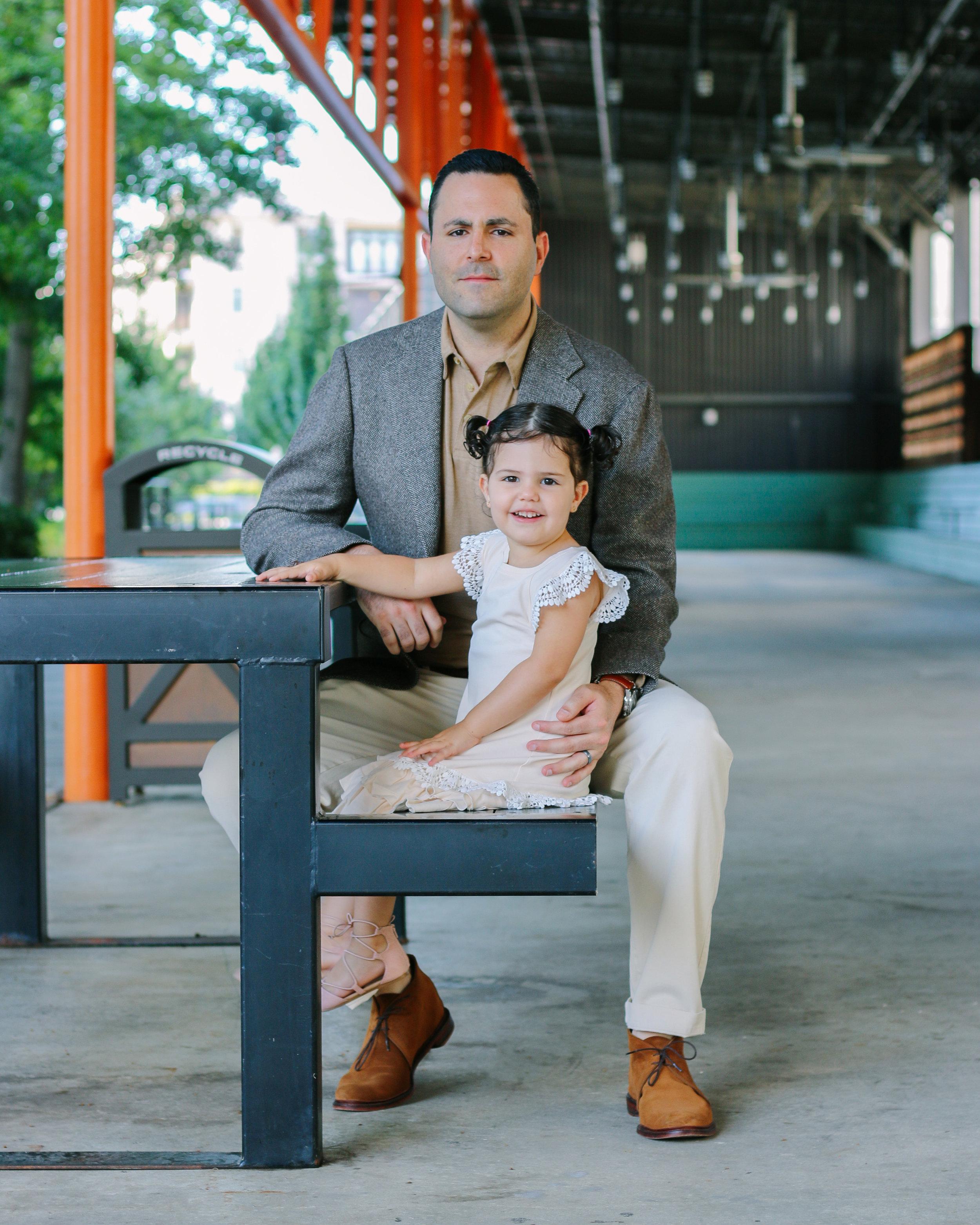 Father & Daughter - Ponce City Market | Atlanta, GA