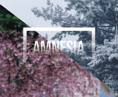 Amnesia Photography Exhibition   Brand Identity