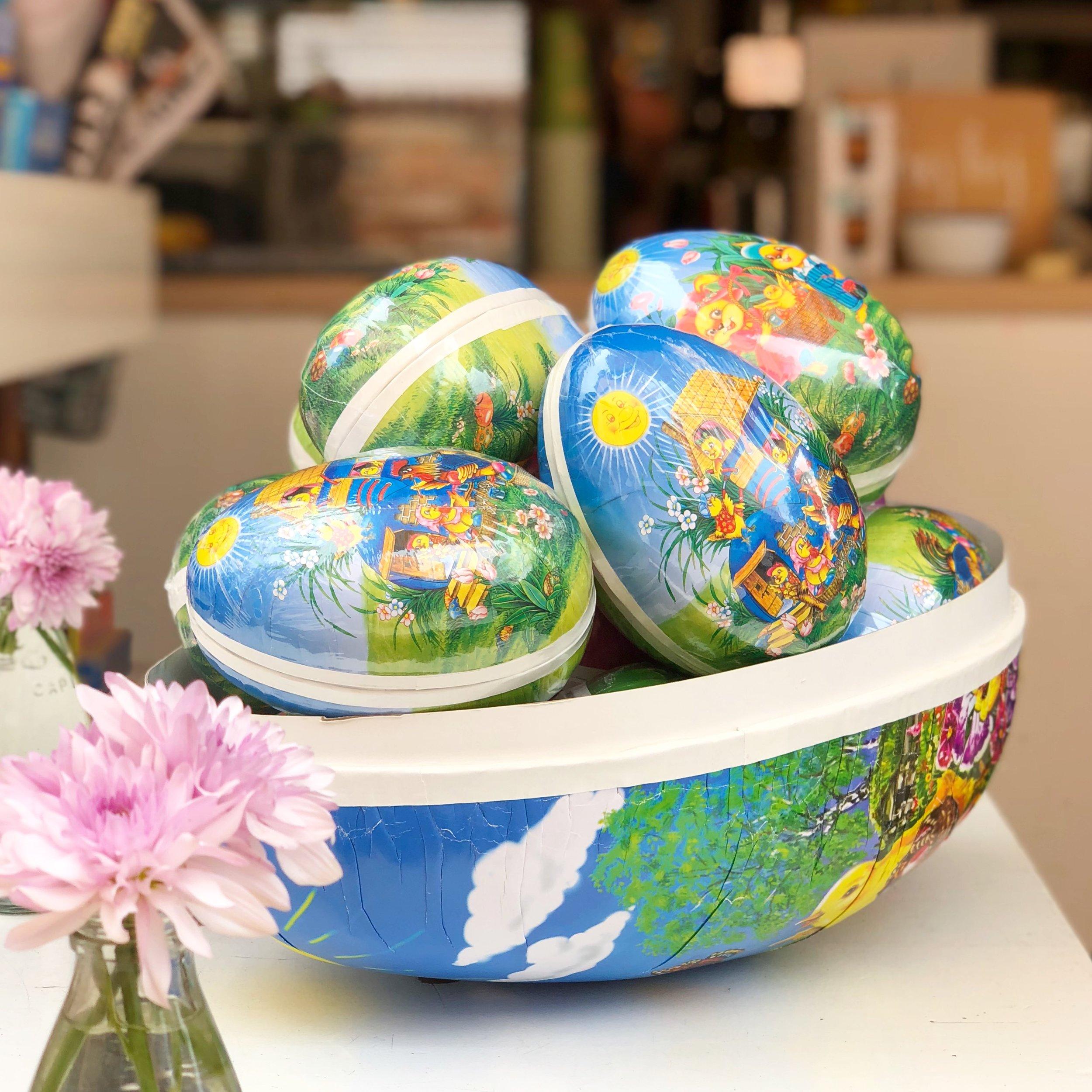 Custom & Hand Drawn Swedish Easter Eggs