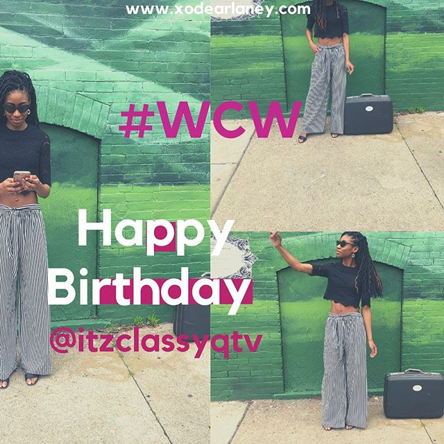 Our very own Rad Girl!!! Happy Birthday @itzclassyqtv 🎈💕✨