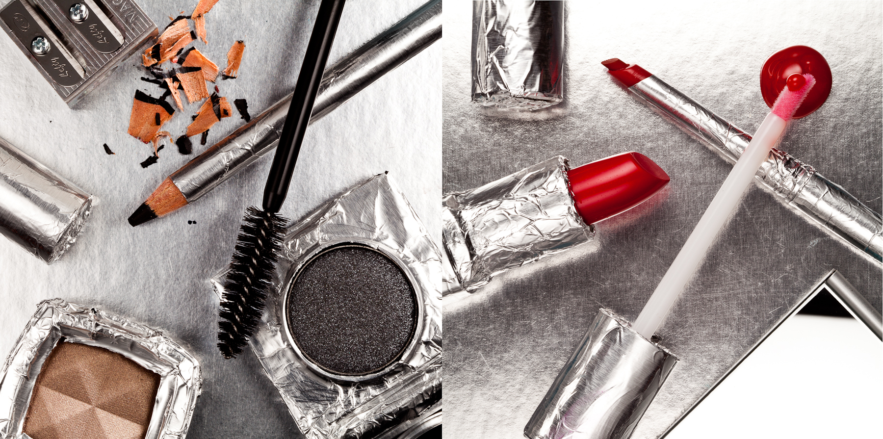 A recent test with the awesome  Renata Gar  . So much of cosmetics is about the branding and the packaging.