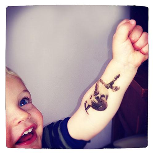 a  Temporary Tattoo