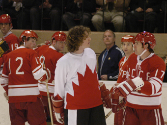 Dream Street Pictures - Canada Russia '72 - Bobby stares down the russians