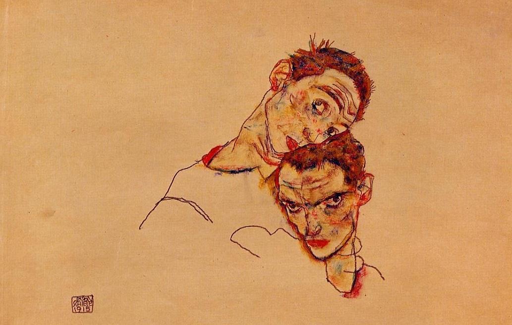Double Self Portrait (1915)