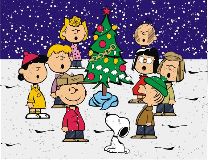 A Charlie Brown Christmas , based on Schulz's  Peanuts  comic strip, has also become a Christmas tradition!