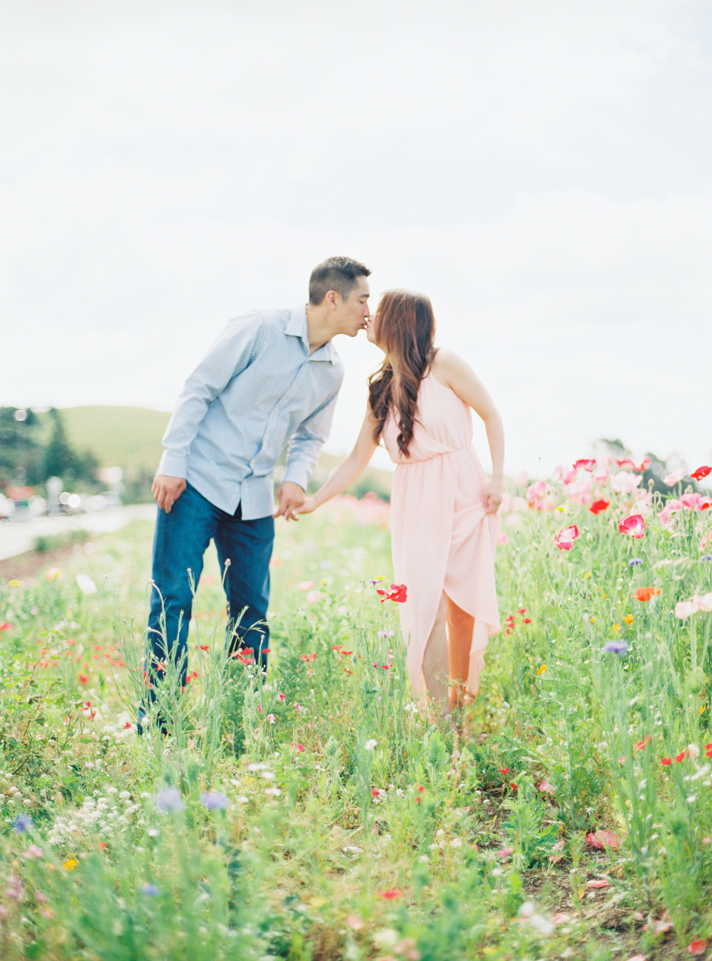 Spring Florals Engagement Fine Art Photographer