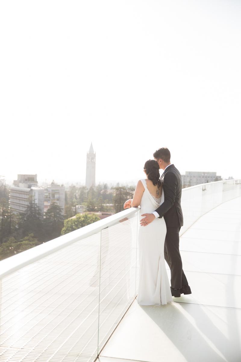 Cal Memorial Stadium Wedding