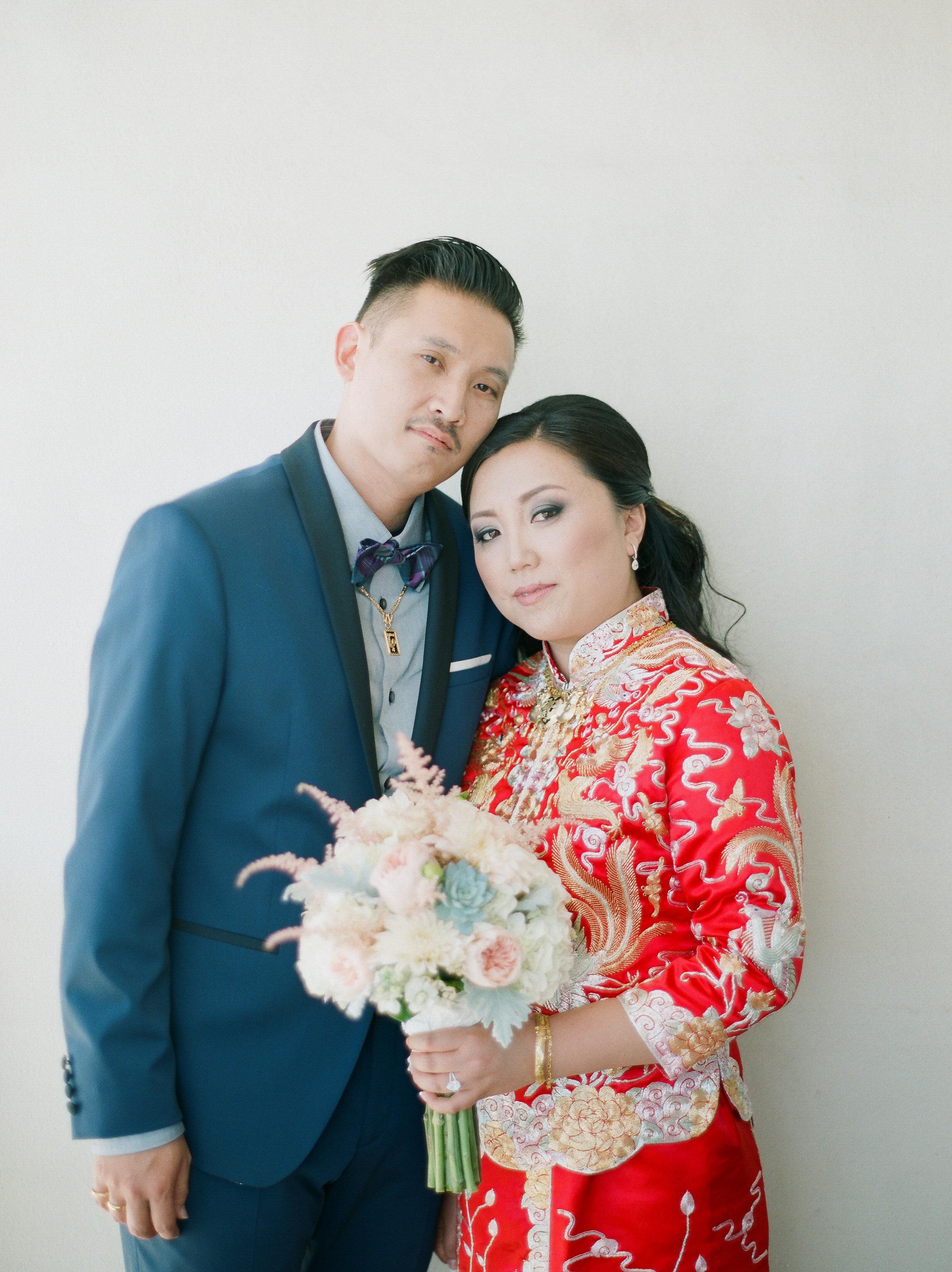 Paradise Cove Oahu Hawaii Fine Art Film Destination Wedding Photographer