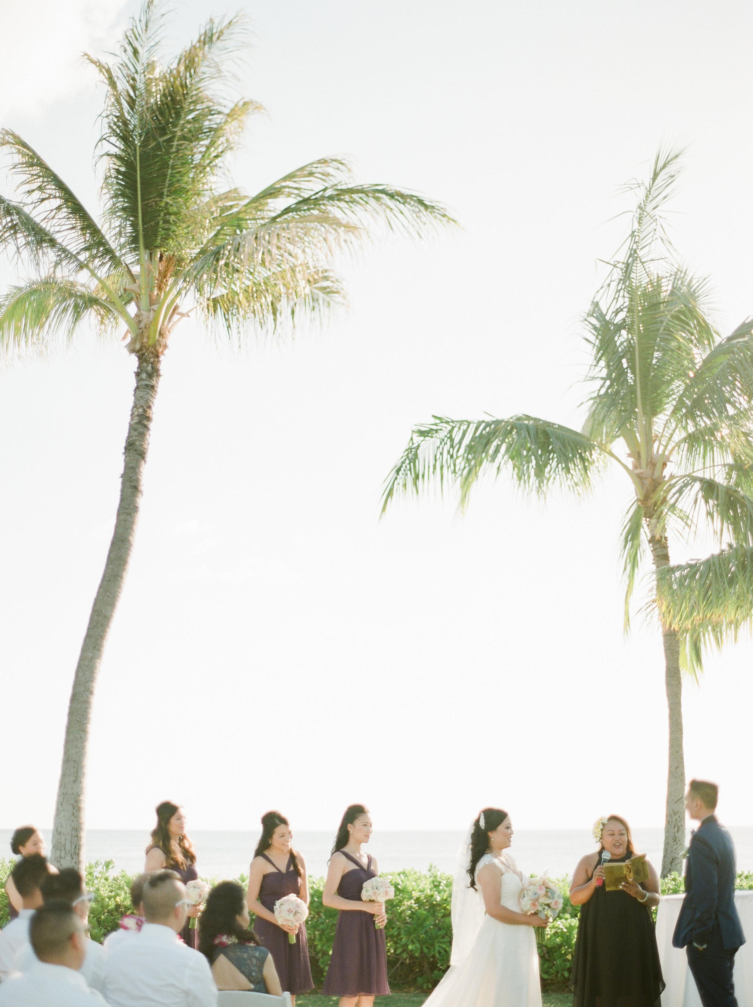 Paradise Cove Oahu Fine Art Wedding Destination Photographer
