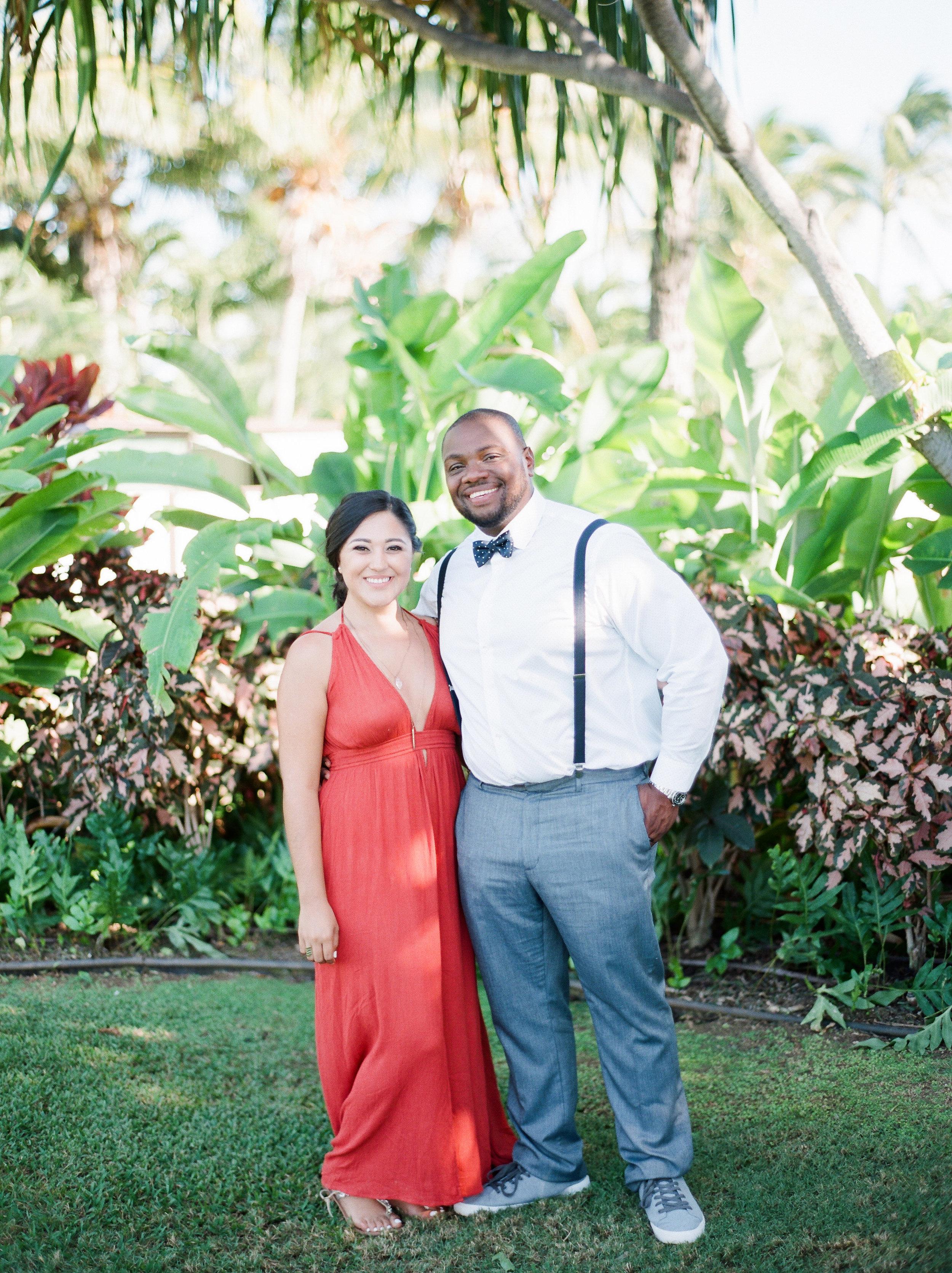 Paradise cove hawaii destination wedding film photographer