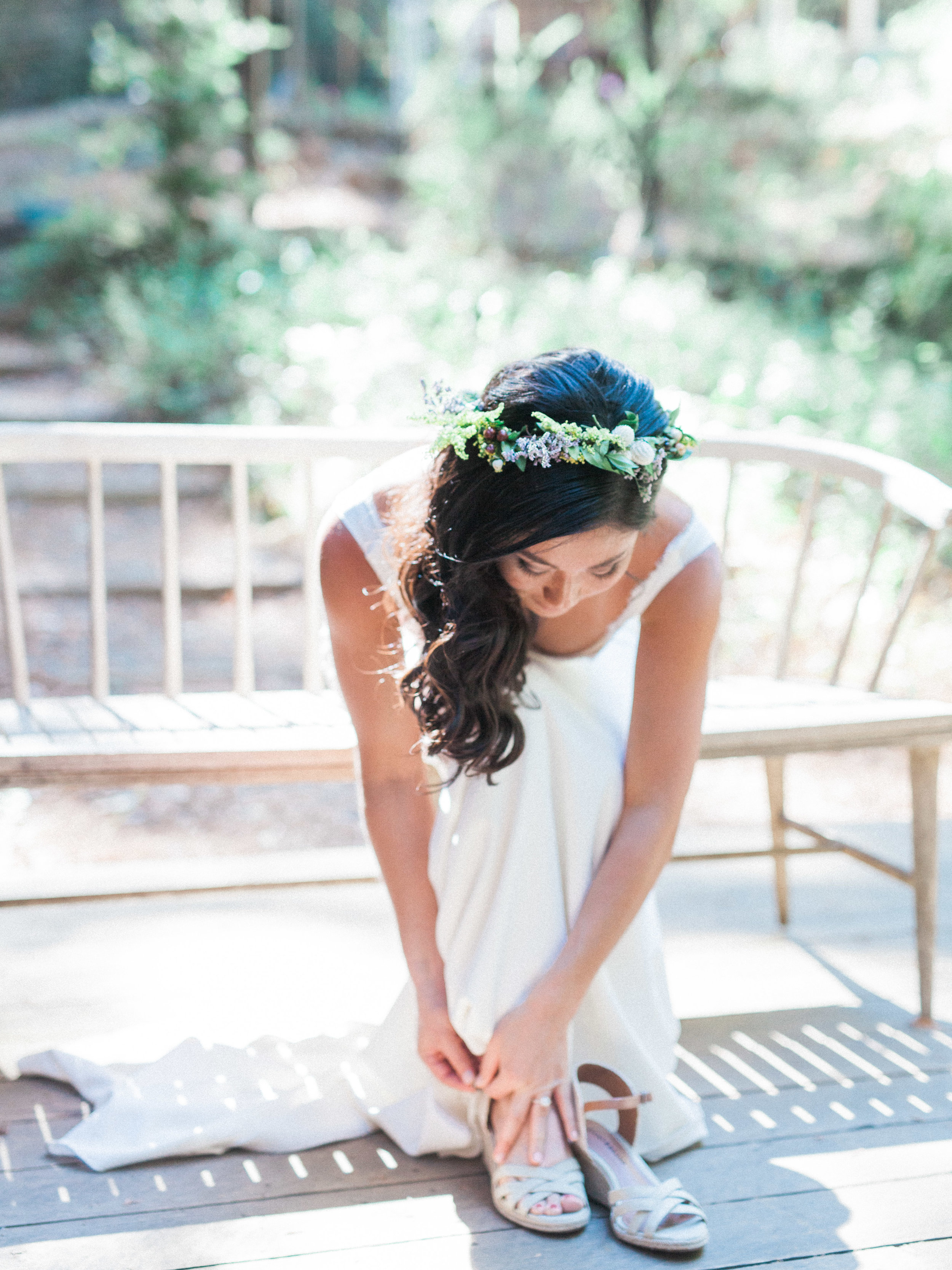 sequoia Retreat Center Ben Lomond Film Wedding Photographer