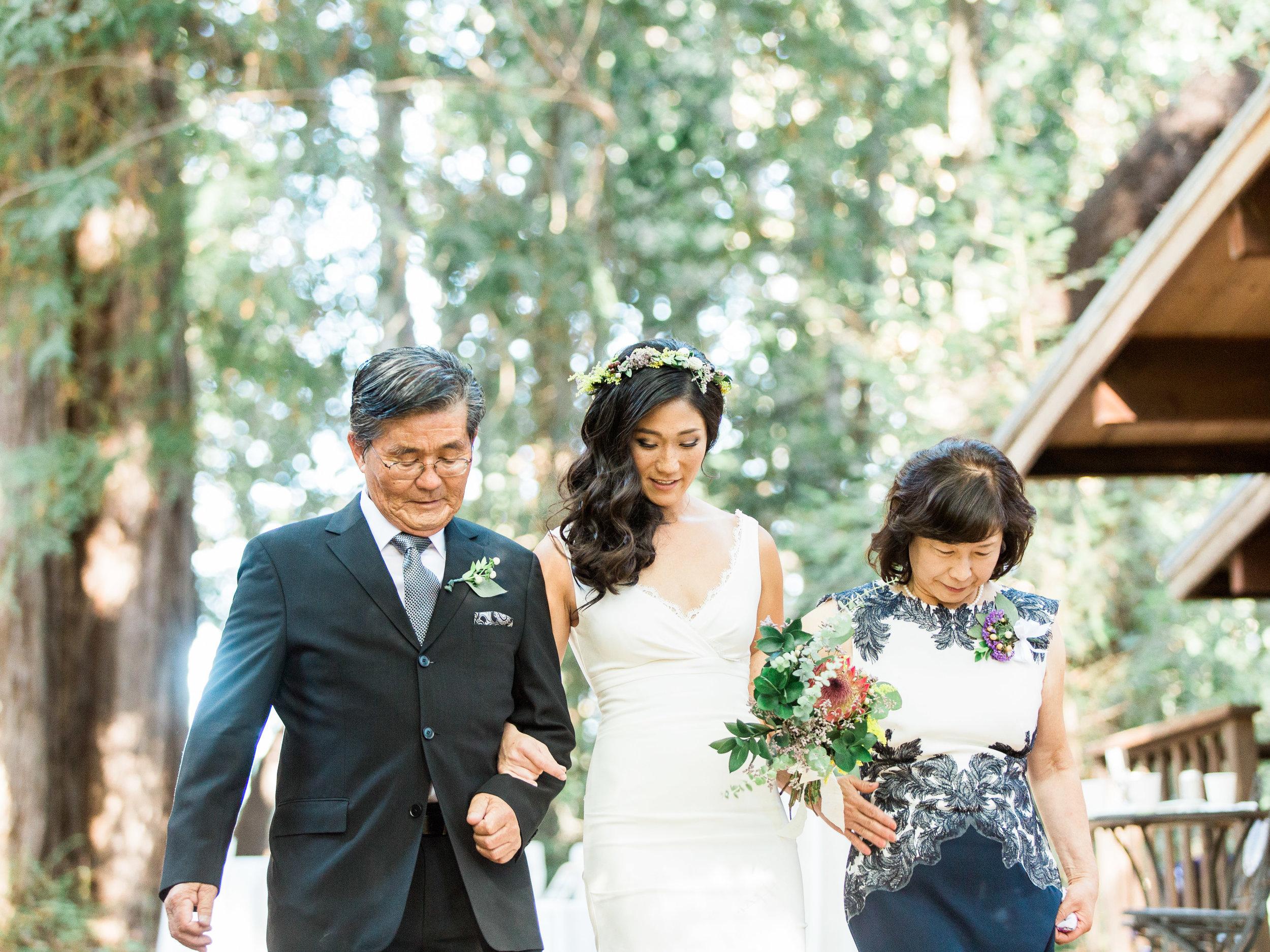 Sequoia Retreat Center Fine Art Film Wedding Photographer