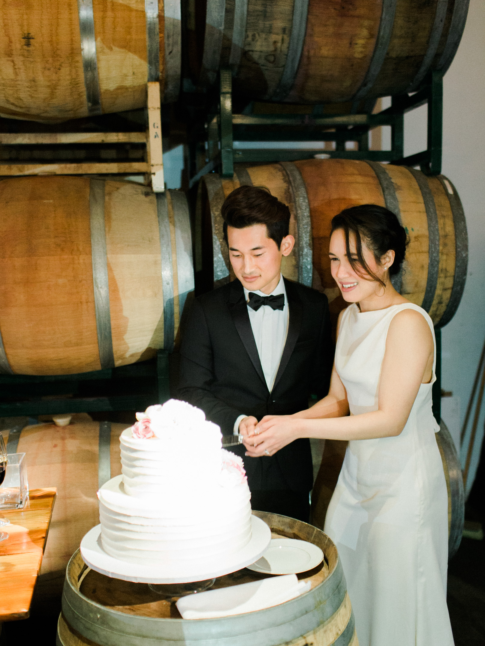 Romantic chic wineworks sf wedding - Fine Art Film Photographer Jenny Soi