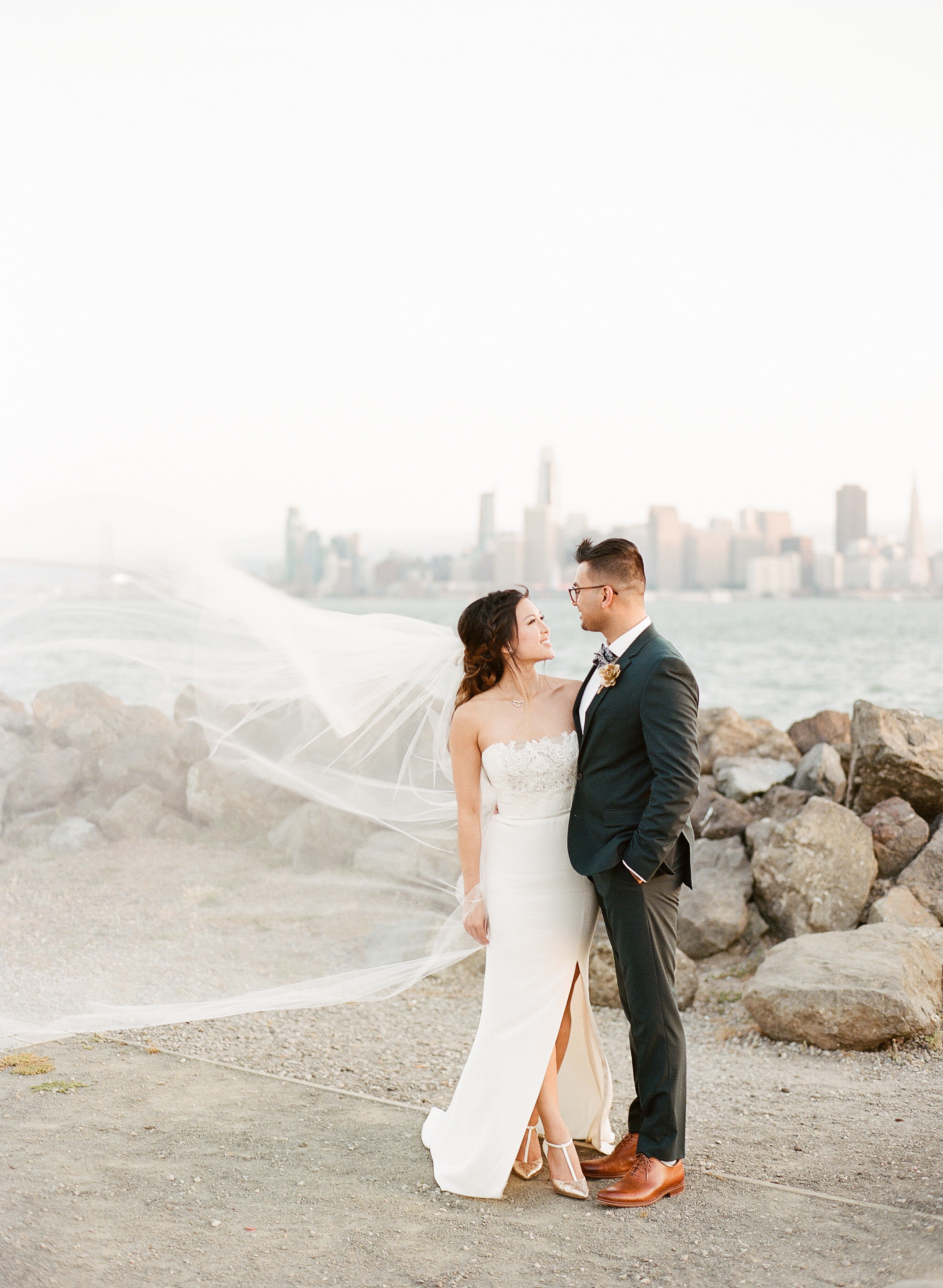 San Francisco Fine Art Film Photographer - Aracely Wedding