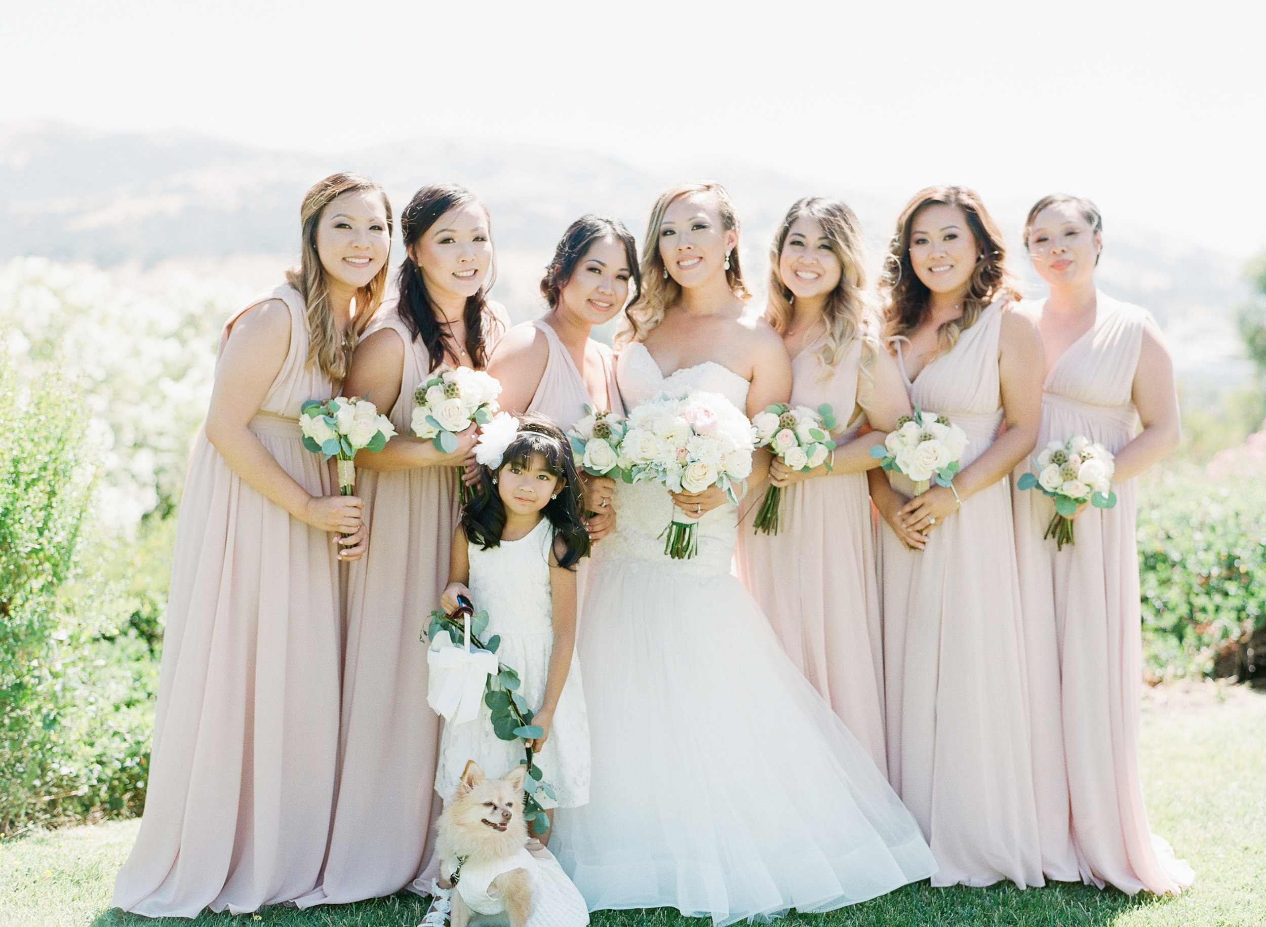 Villa Montalvo Art Center Wedding - Fine Art Jenny Soi Film Photographer