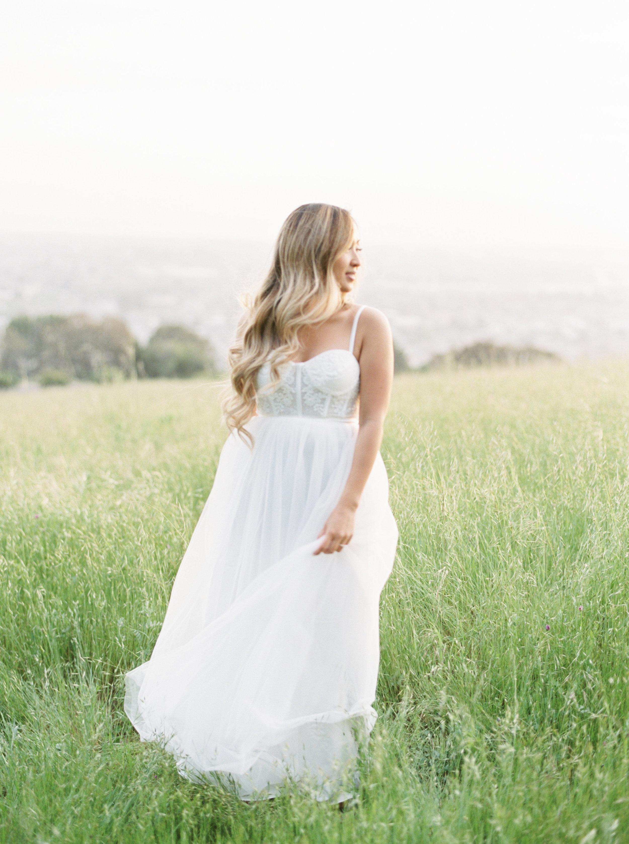california sunset engagement session - Destination Film Photographer