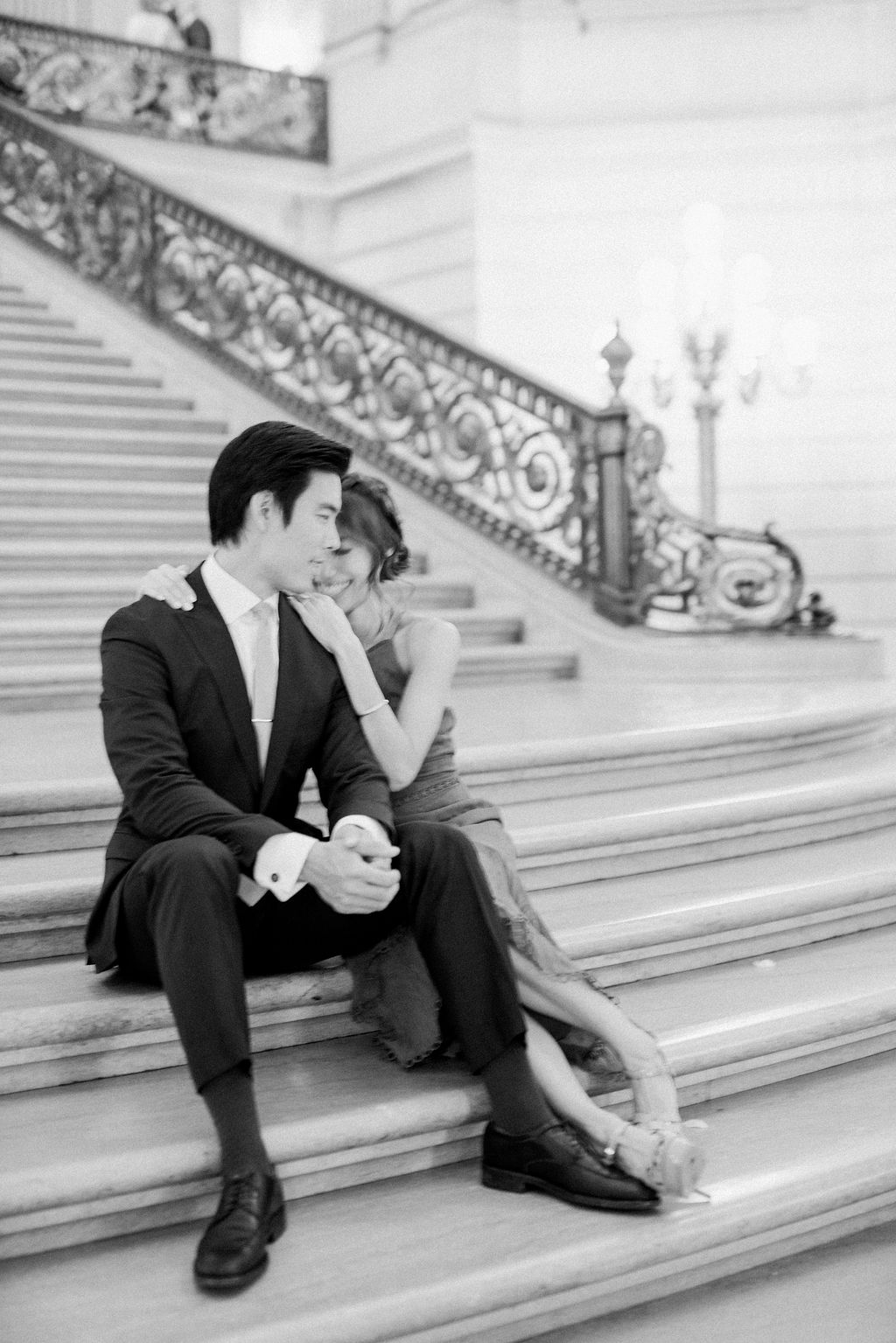 San Francisco City Hall Elopement Fine Art Photographer