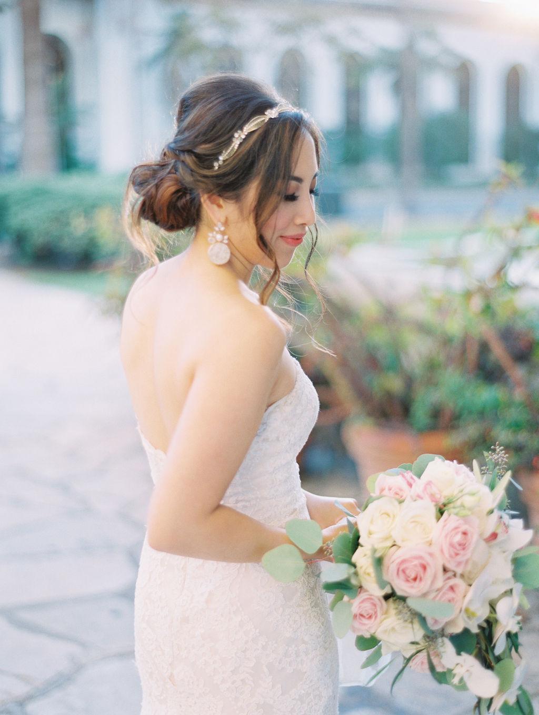 El Paseo and City hall Santa Barbara Destination Wedding Photographer