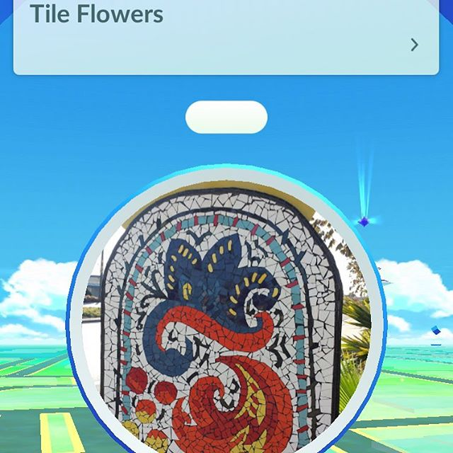 Hey look...we're a Poke Stop! Stock up on tile and Poke balls all in one trip! #tileencounters #tileencountersventura #pokestop #pokestops #ventura #pokemon #venturacounty #oxnard  #pokeballs #tileflowers #pokemongo #tile #tileventura