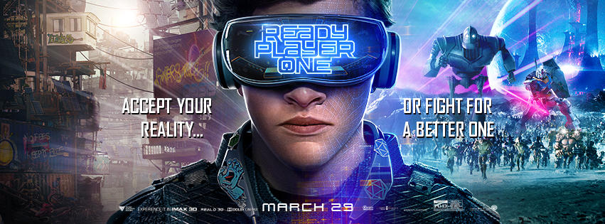 STEVEN SPIELBERG'S: READY PLAYER ONE  - In theaters Thursday March 29! **  EVENT OVER **