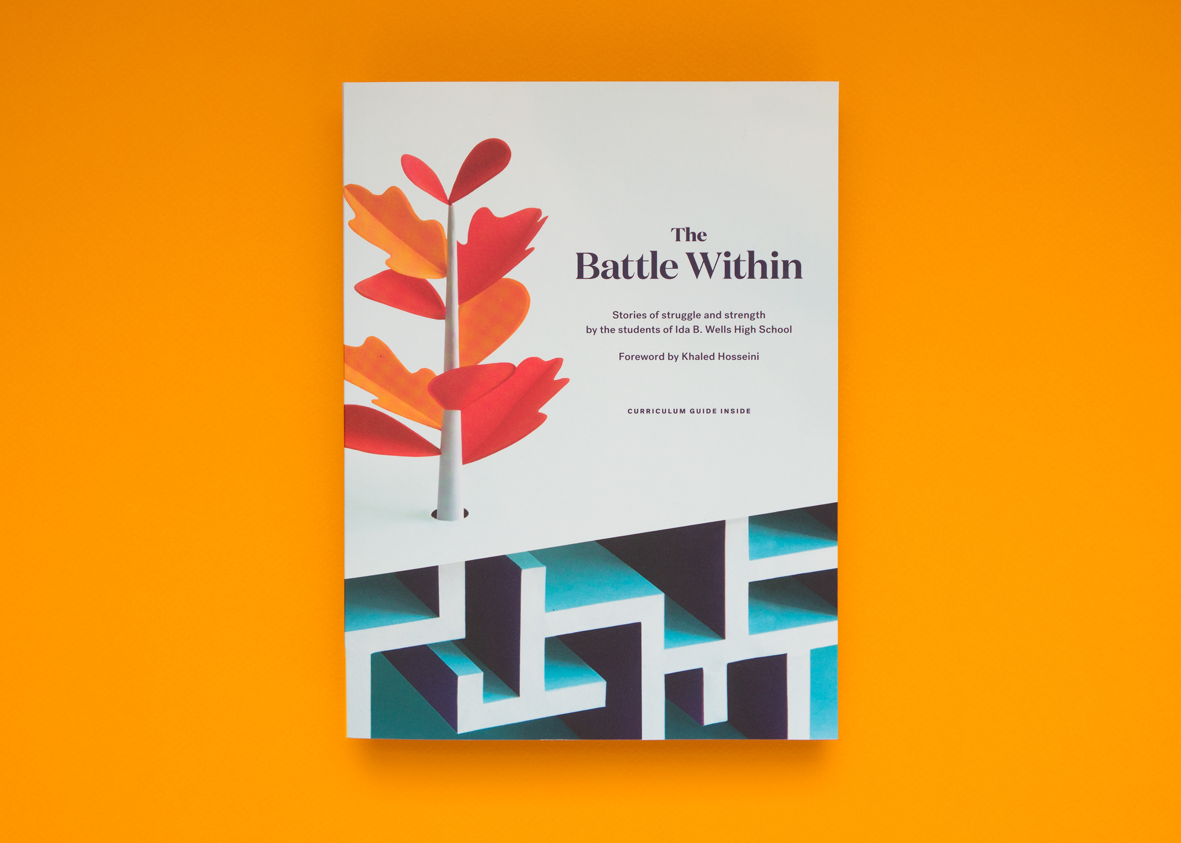 Book cover for The Battle Within