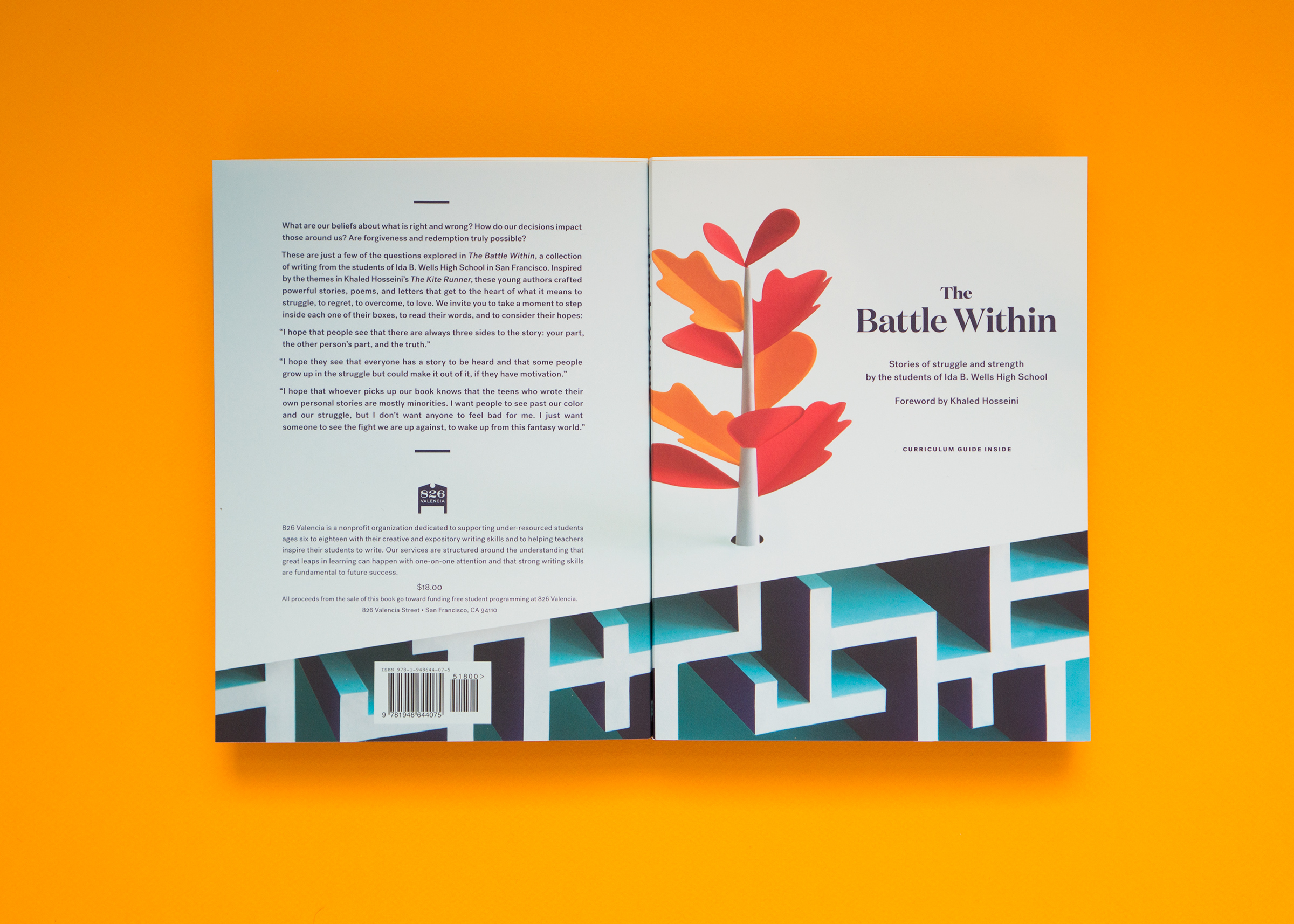 The Battle Within book front and back cover