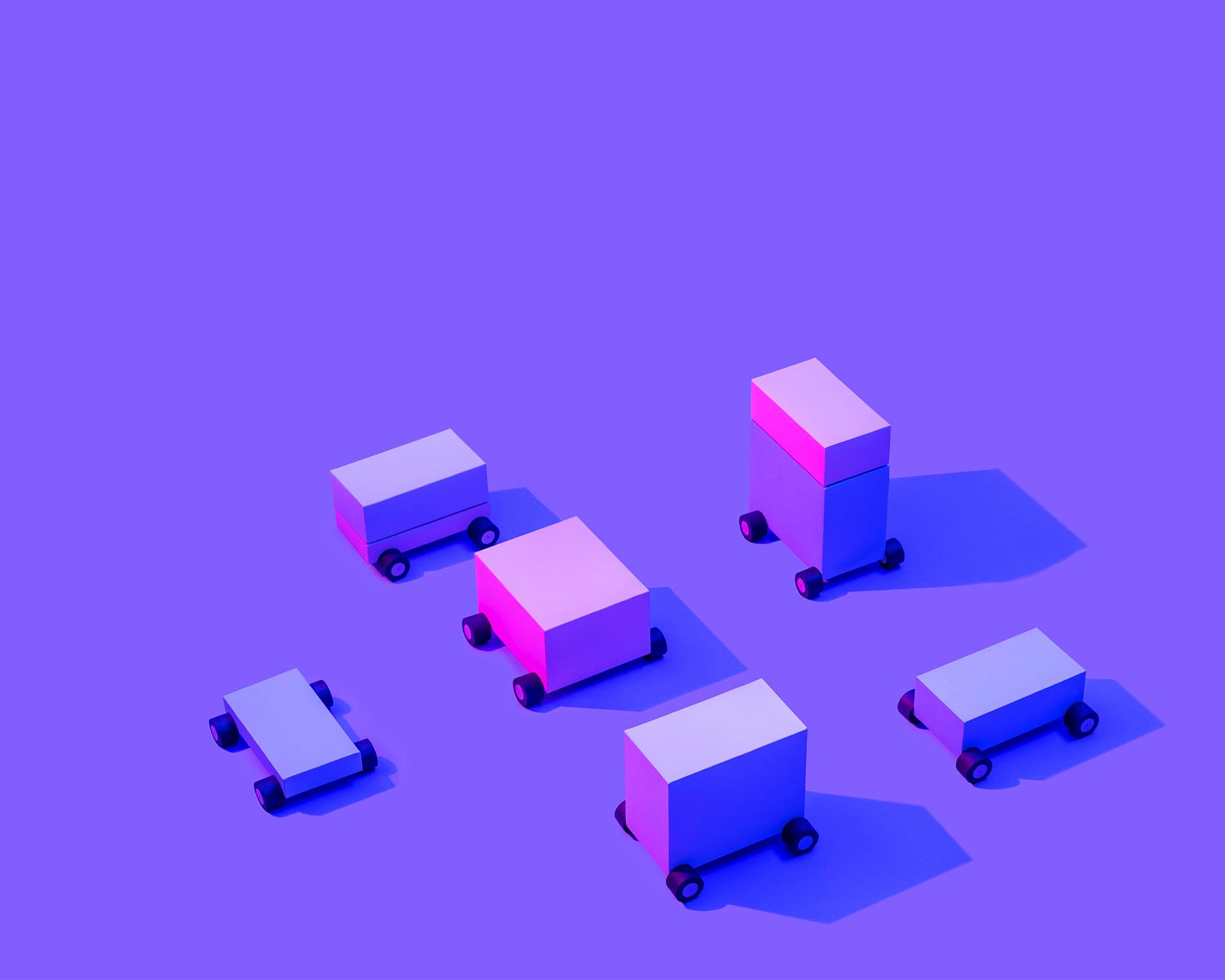 Block cars for Lyft