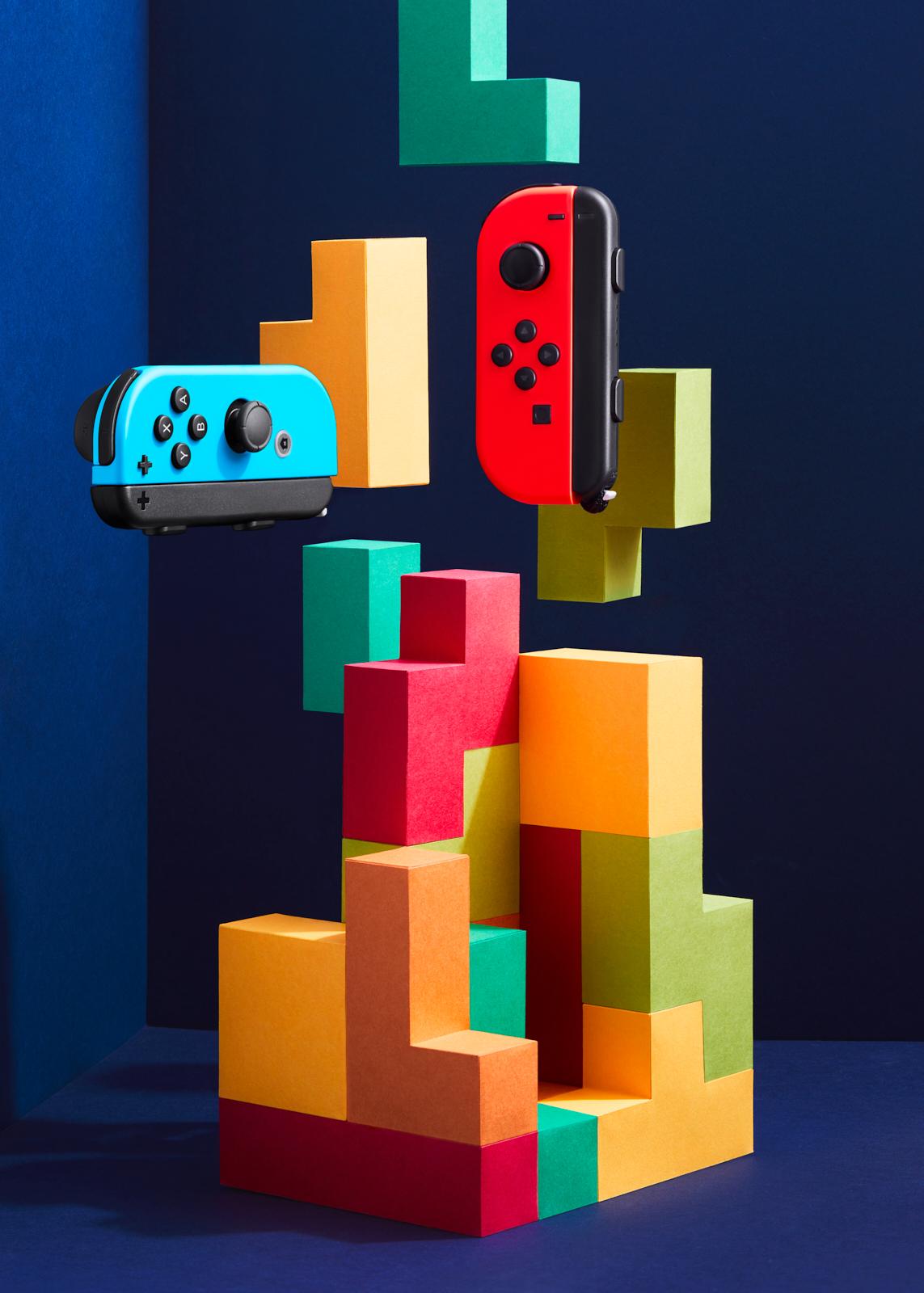 Tetris paper set