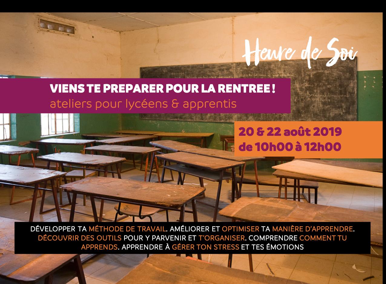 Ateliers pour lycéens & apprentis
