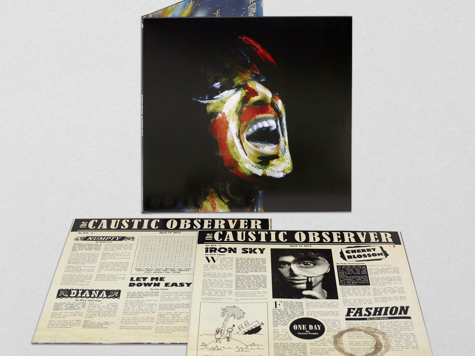 Caustic Love Album Art Work