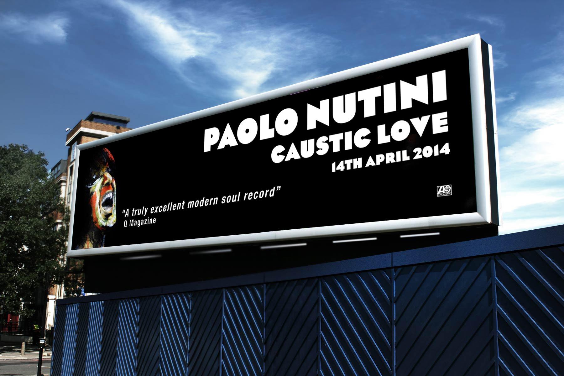 Caustic Love Billboard