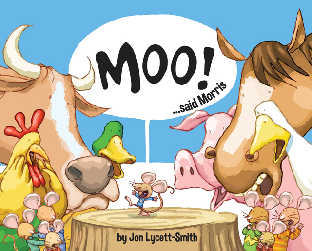 'Moo!...said Morris' - cover