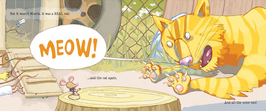 'Moo!...said Morris' - Meow!