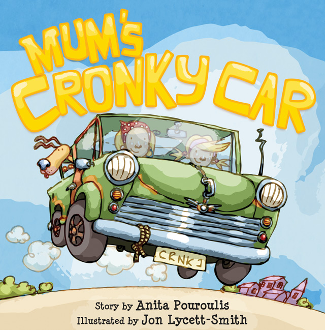 'Mum's Cronky Car' - Cover