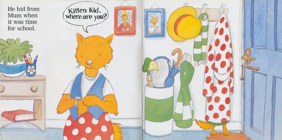 'Kitten Kid, Where Are You?' - Mum