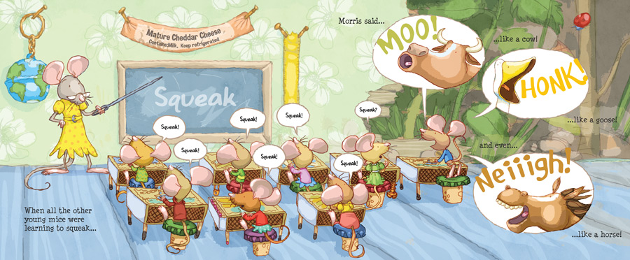 'Moo!...said Morris' - Classroom