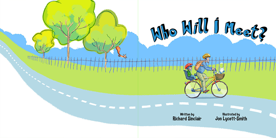 'Who Will I Meet?' - Title Page