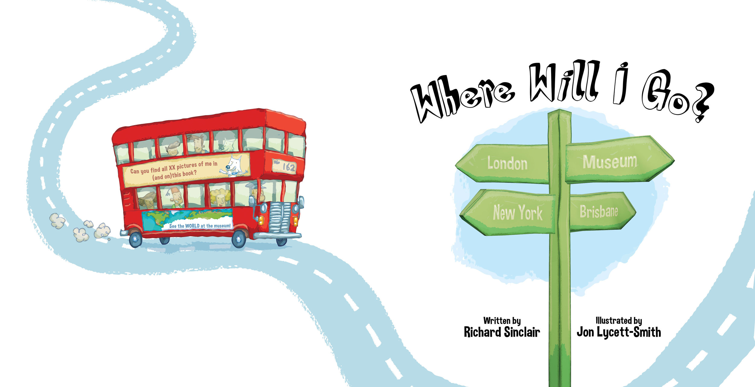 'Where Will I Go?' - Title Page
