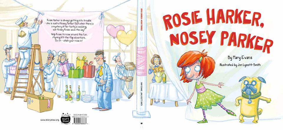 'Rosie Harker, Nosey Parker' - Cover