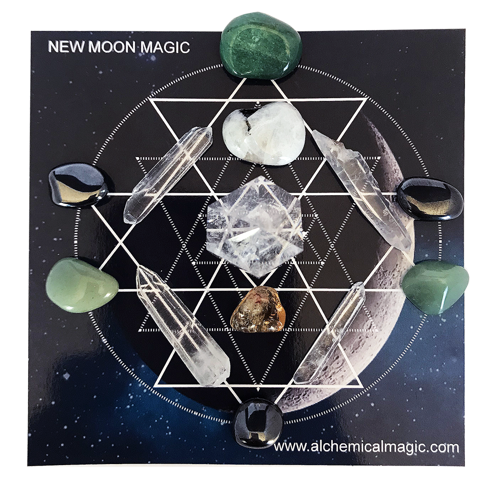 GRIDDING CRYSTALS — Alchemical Magic