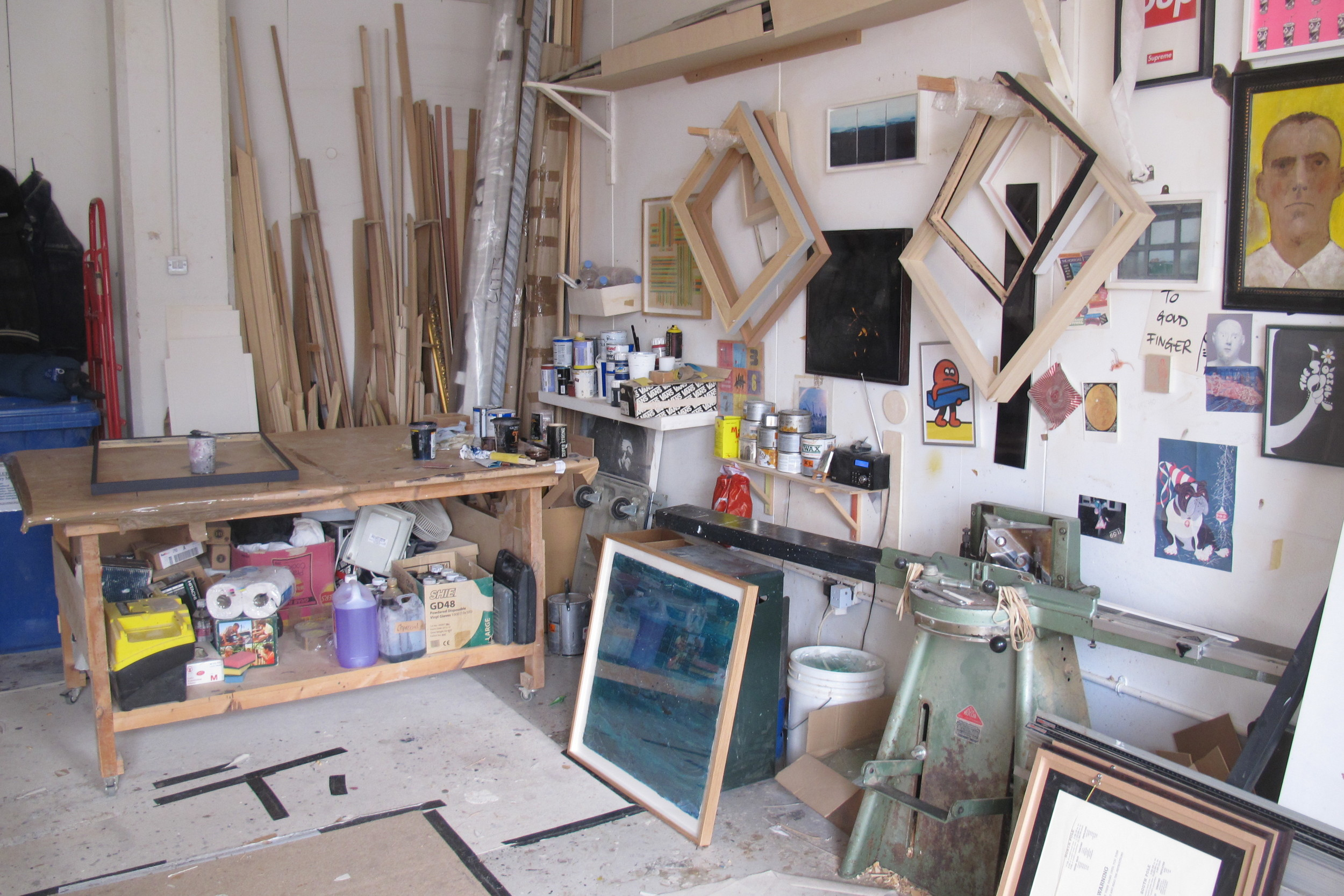 Studio Shot John Hinds Framing Camberwell