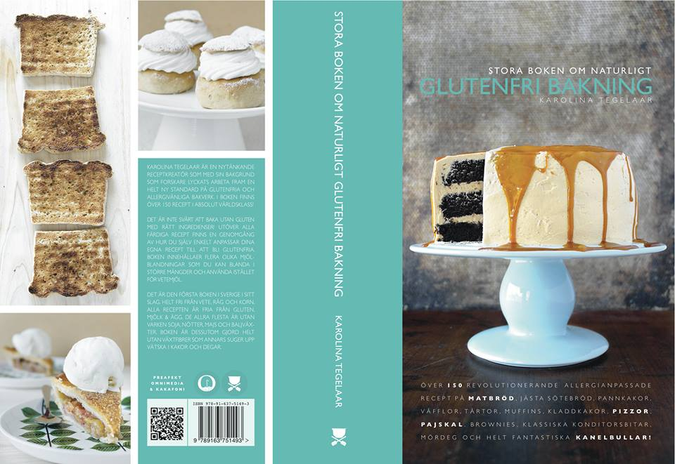 Stora boken om naturligt glutenfri bakning - UTE SNART!