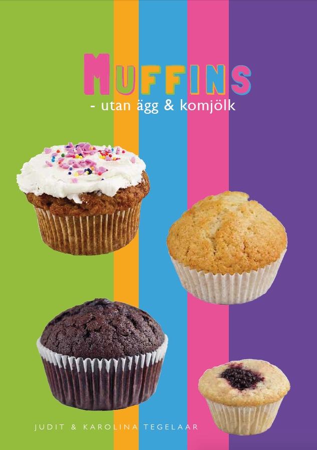 Muffins utan ägg och komjölk är nu ute i vår butik!  Superenkla recept som är uppradade mellan varje instruktion och spiralbindning som gör det enkelt att bläddra!