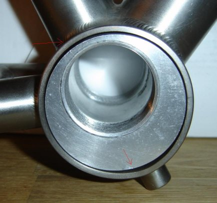Eccentric bottom bracket bush