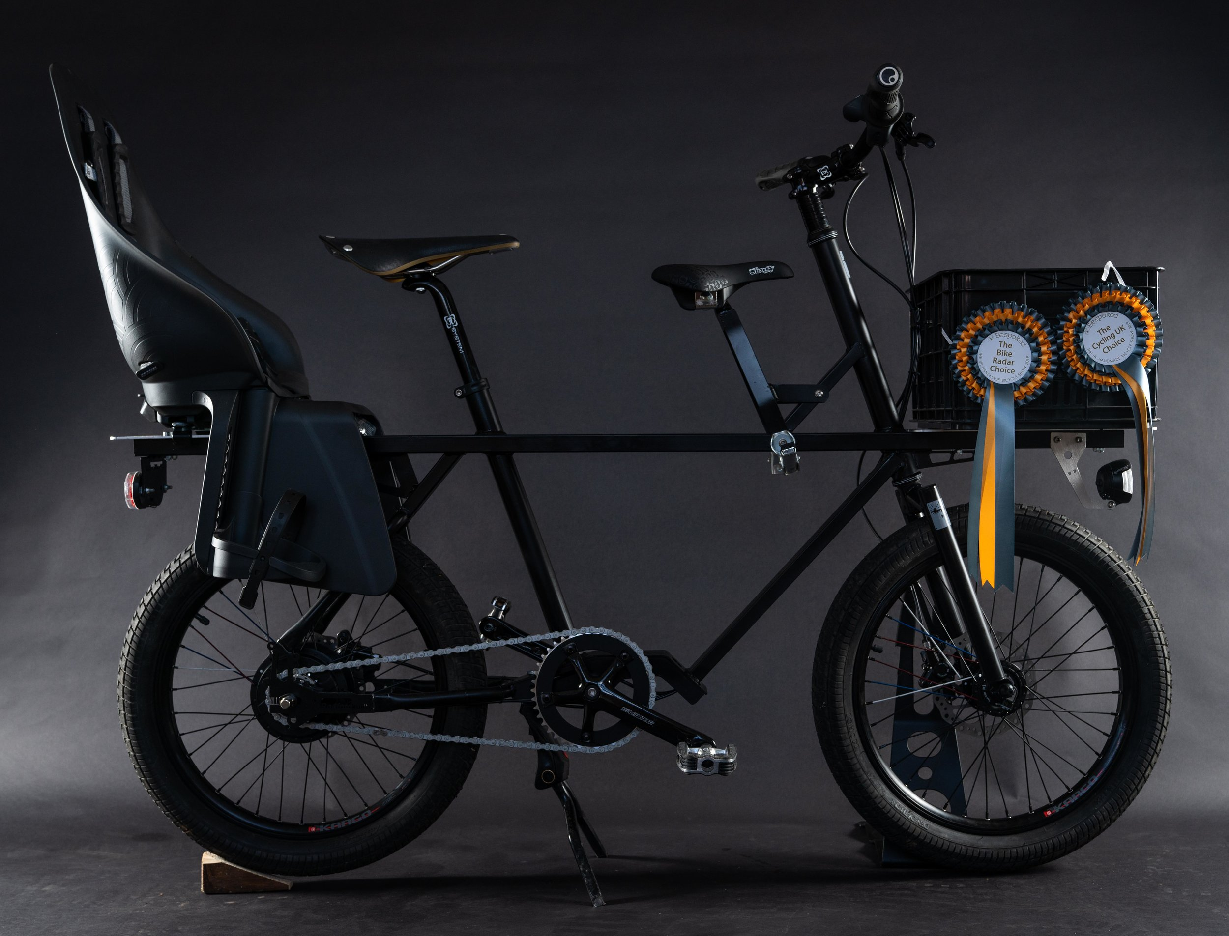 Big Billy - The Urban bike small enough to fit into your life but big enough to change it.