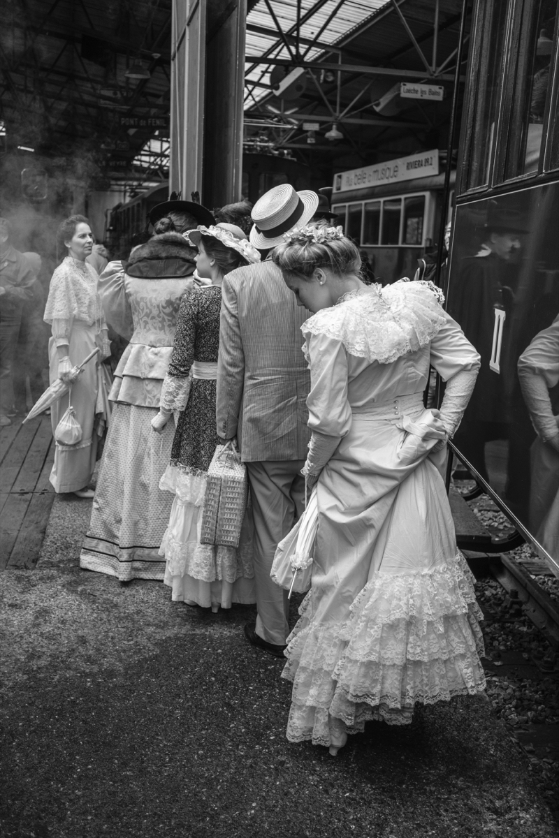 3 photographes au Blonay-Chamby 2017